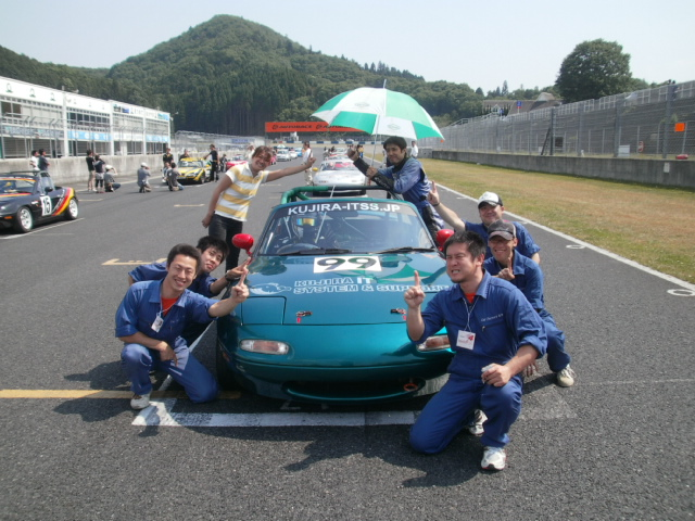 岡山チャレンジカップレース ユーノスロードスター