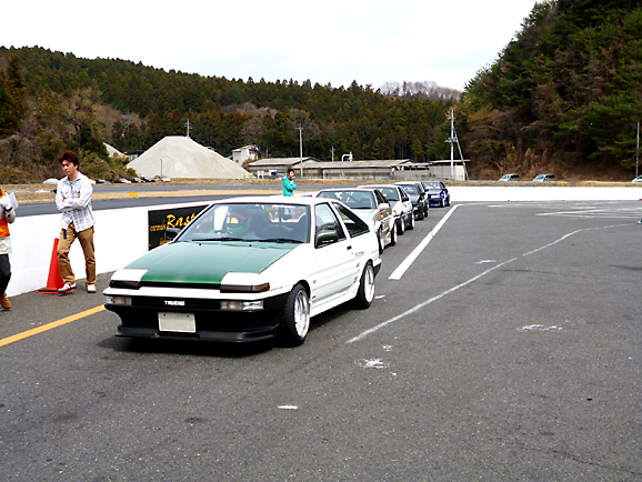 THE DUAL BATTLE in 間瀬サーキット